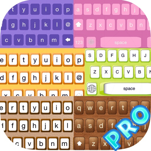 DIY Keyboard PRO - Design keyboard with cool Fonts, colorful