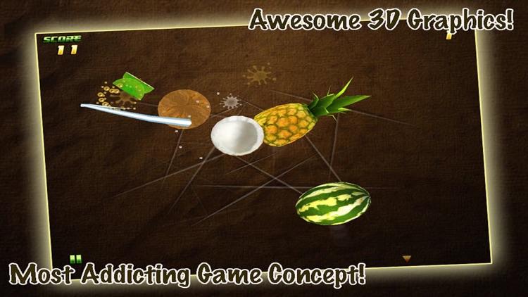 Fruit Samurai: Cutting Expert - Slice or Cut Melons, Bananas and Oranges screenshot-3