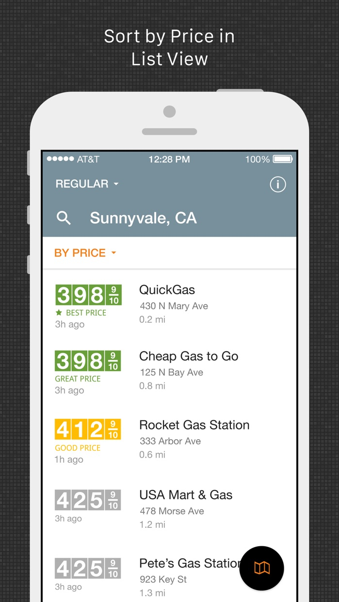 Gas Guru: Cheap gas prices Screenshot