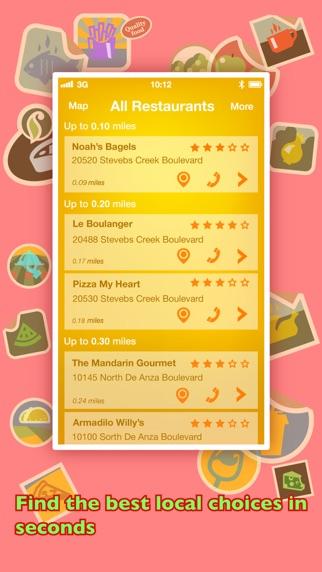 Screenshot for Di mana tempat Untuk Makan? PRO - Cari Restoran menggunakan GPS in Indonesia App Store