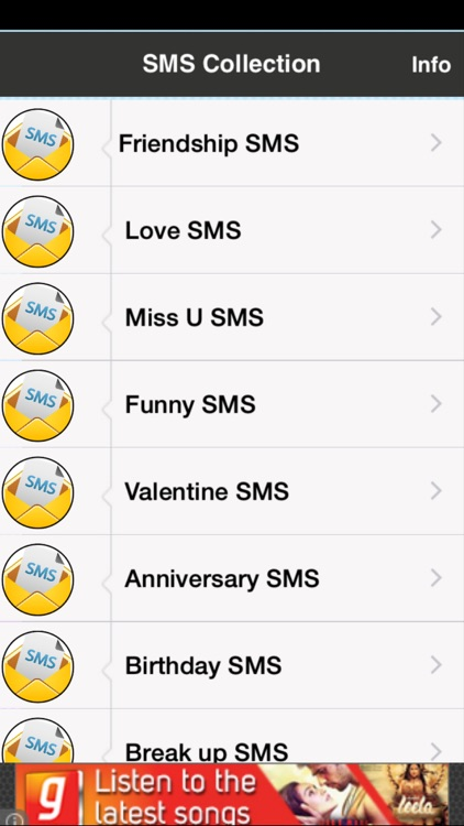SMS Collection Free