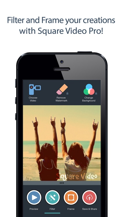 Square Video - Crop, Rotate, Zoom and Resize Videos for Vine and Instagram