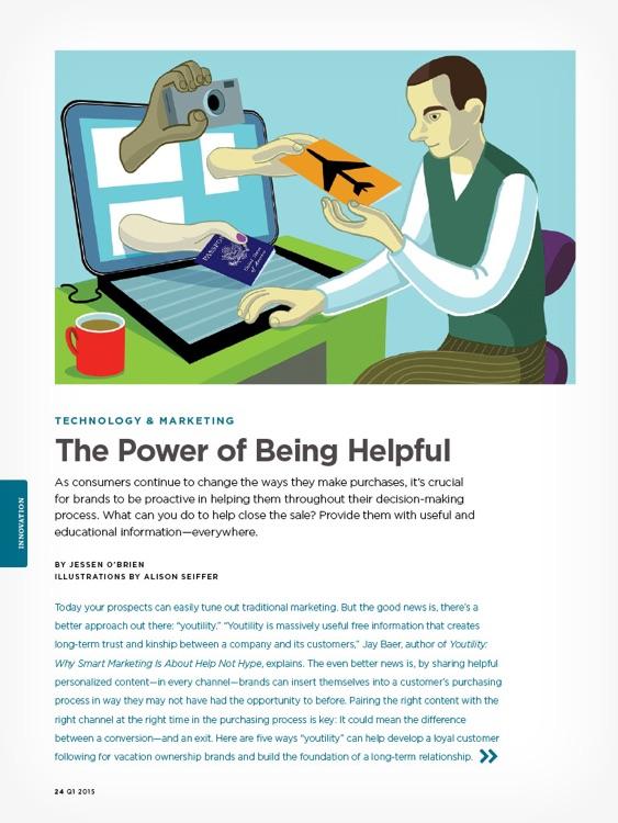 RCI® Ventures magazine app for the iPad® screenshot-3