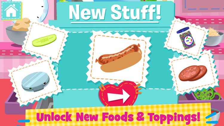 Lalaloopsy Diner - A Candy Coated Burgeria, Pizza Party Cooking Game