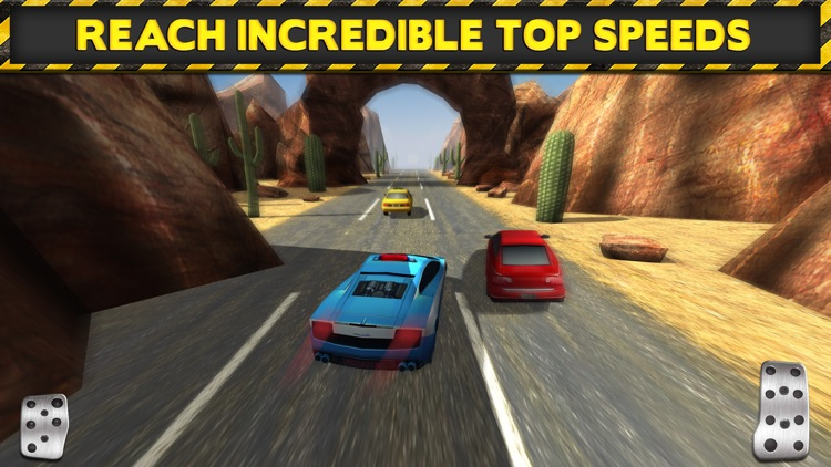 3D Police Drag Racing Driving Simulator Game: Race The Real Turbo Chase screenshot-4