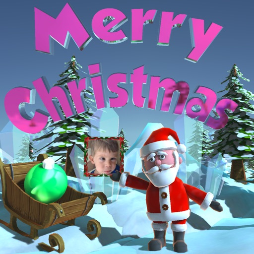 Animated Christmas 3D photo album Free