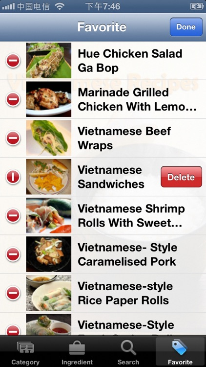 Vietnamese Recipes Collection screenshot-3