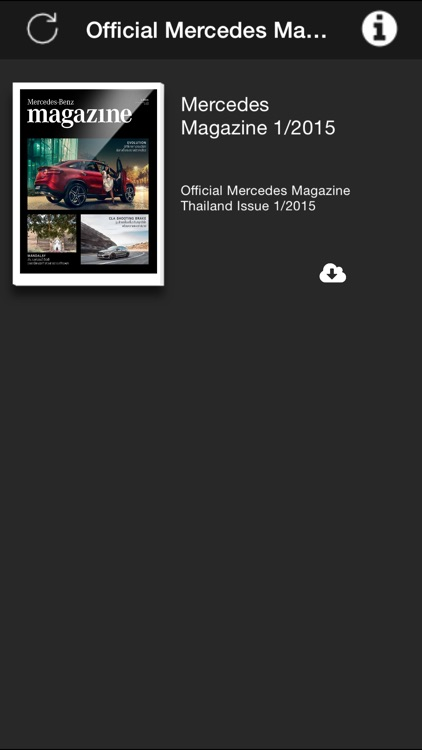 Official Mercedes Magazine Thailand screenshot-3