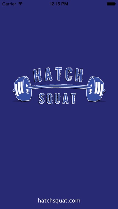 Hatch Squat Calculator screenshot one