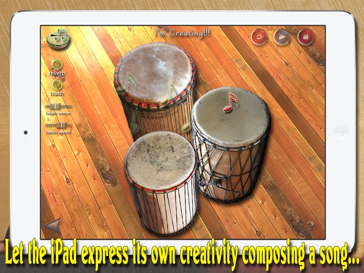 i Play My African Drums HD PRO screenshot-3