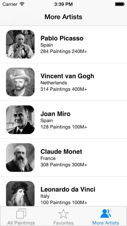 Dali 51 Paintings HD Ad-free screenshot-4