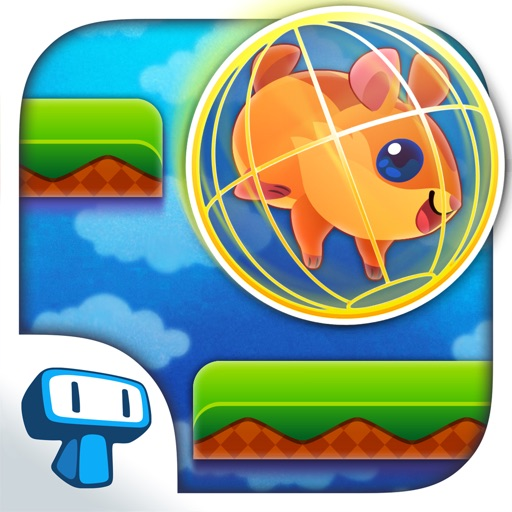 Hamster Roll - Cute Pet in a Running Wheel Platform Game