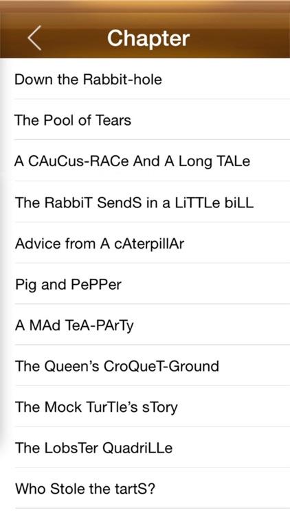 Alice's Adventures in Wonderland, Lewis Carroll screenshot-3