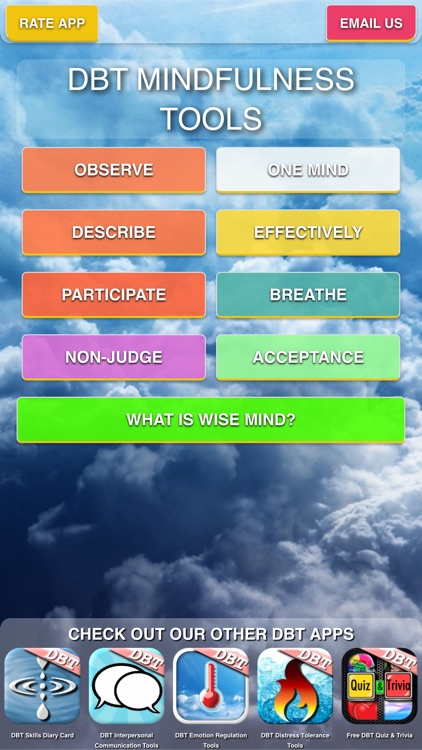 DBT Mindfulness Tools screenshot-0