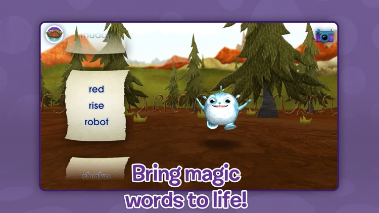 Wallykazam! Letter and Word Magic screenshot-3