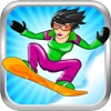 Avalanche Mountain HD - An Extreme Downhill Snowboard Racing Game