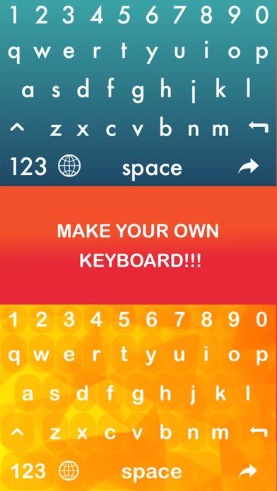 Keyboard Designer- Your Own Keyboard screenshot one