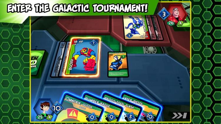 Ben 10 Slammers – Galactic Alien Collectible Card Battle Game