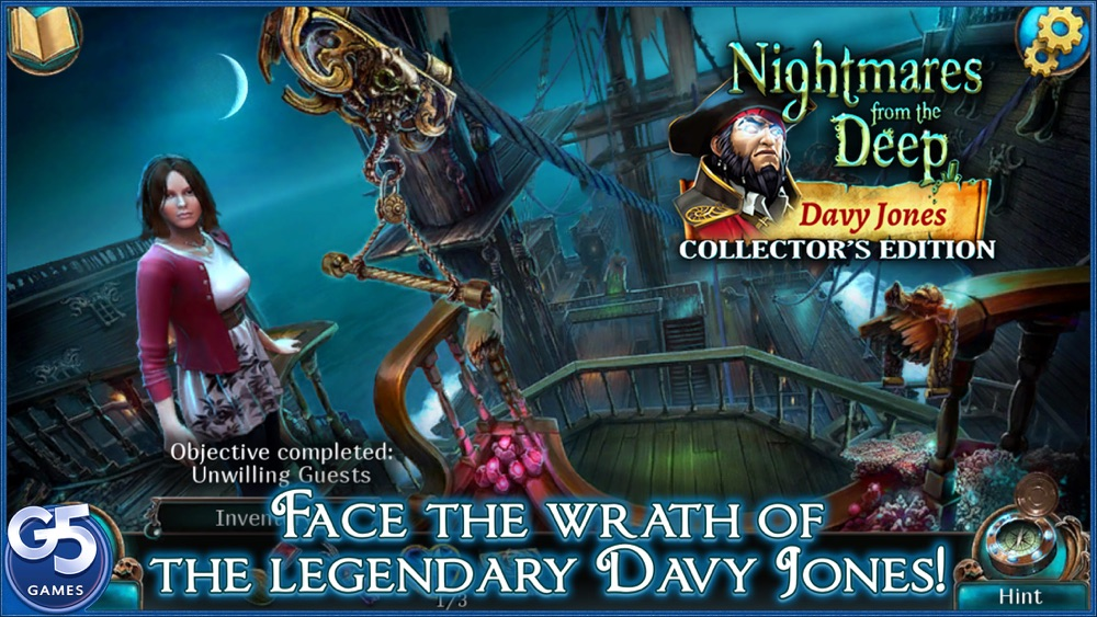 Nightmares from the Deep™: Davy Jones, Collector's Edition Cheat Codes