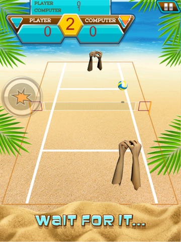 A Volleyball Beach Battle Summer Sport Game-ipad-2