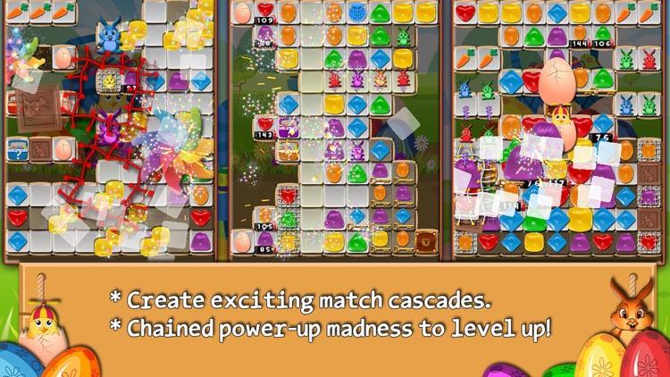 Bunny Drops - Match three puzzle screenshot-4