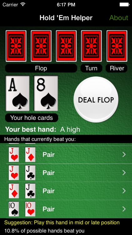 Hold 'Em Helper screenshot-0