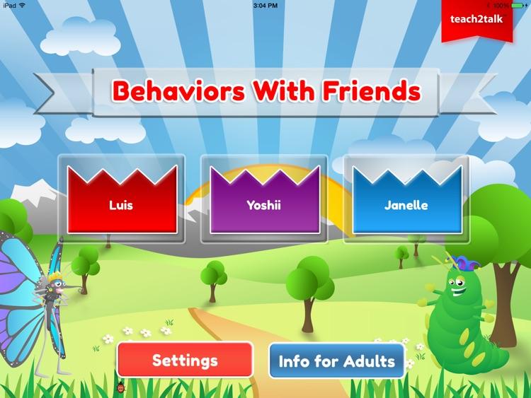 Teach2Talk's Behaviors with Friends screenshot-4