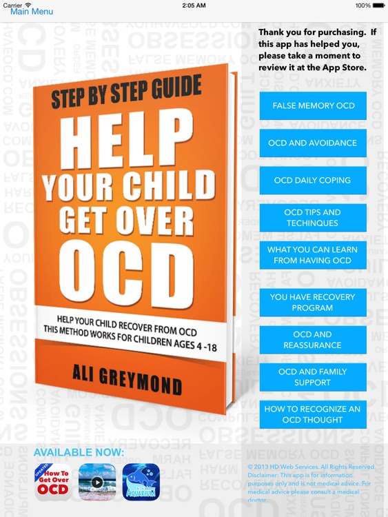 Help Your Child Get Over OCD screenshot-4