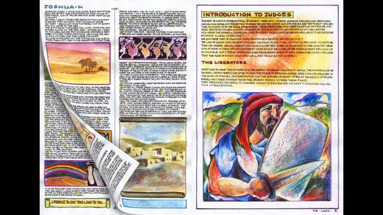 The Holy Bible - Handwritten and Illustrated by Dino Mazzoli