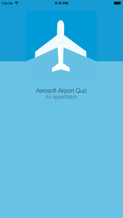 Aerosoft Airport Quiz for Apple Watch screenshot one