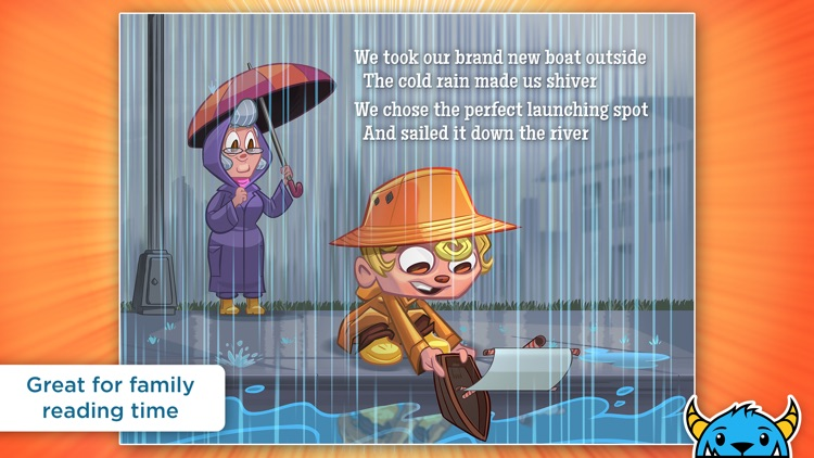 A Shark Knocked On the Door - An Interactive Animated Storybook App For Kids screenshot-4