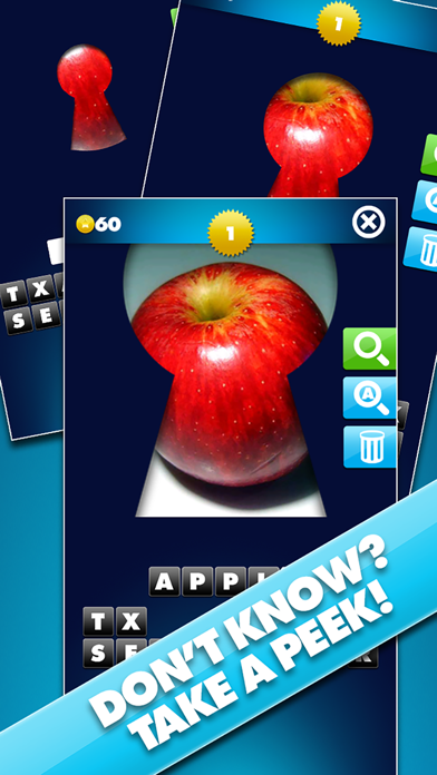 Through The Keyhole - Take a peek at the pic and guess the word screenshot two
