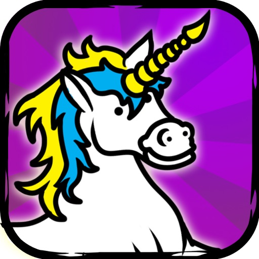 Unicorn Evolution - Tap Coins of the Crazy Mutant Tapper & Clicker Game