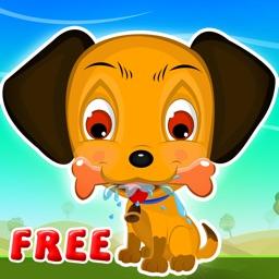 A Cute Dog's City Life Simulator : Run, Jump, Eat Food and Play - Free