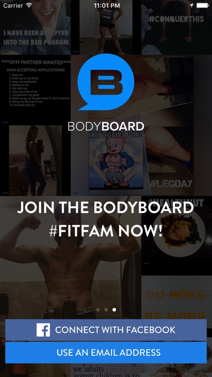 BodyBoard - The Fitness Super Community