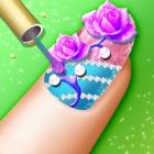 Princess Salon-crazy nails !! icon