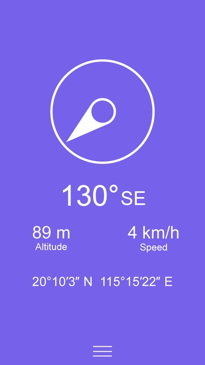 Compass Zen - Minimalist compass with altimeter, speedometer, and more screenshot-4