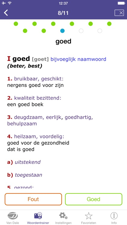 Dutch Dictionary - Van Dale Pocket dictionary: define, spell and use Dutch words correctly screenshot-4