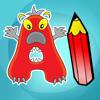 Abc Kleurboek : Leren schrijven het alfabet in het Engels