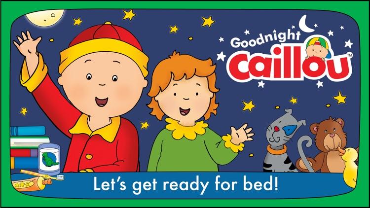 Goodnight Caillou – Bedtime Activities screenshot-0