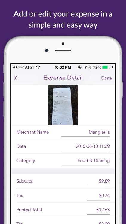 Deductible - log mileage & expense for tax & reimbursement screenshot-3