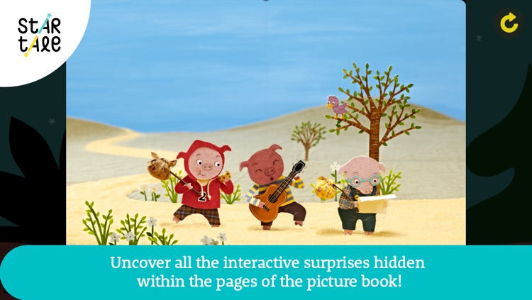 Three Little Pigs : Star Tale - Interactive Fairy Tales for Kids