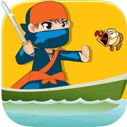 Crazy Ninja Fish Slasher Pro - best Ninja slash challenge game