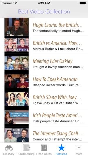 american slang words list