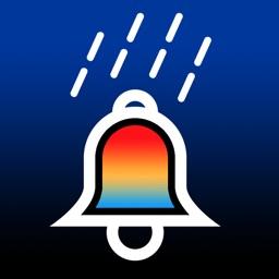 Rain Bell, rainy day, snowy day , windy day notification