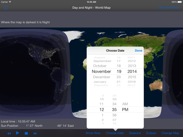 Day and night world map hd on the app store gumiabroncs Image collections
