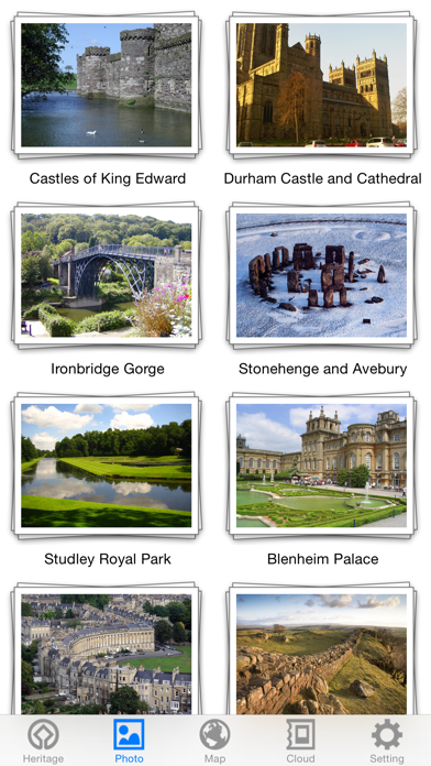 World Heritage in Britain screenshot three