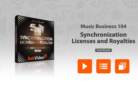 Music Business 104 - Synchronization Licenses and Royalties screenshot 1