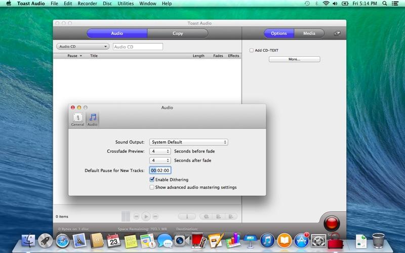 Toast Audio Screenshot
