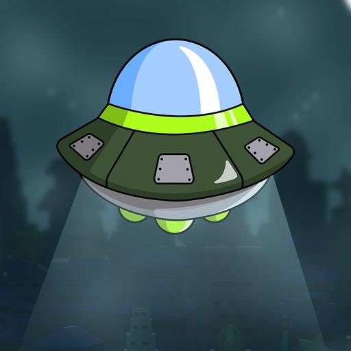 Crazy Alien Earth Invasion Pro - top aeroplane shooting game iOS App